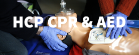 Health Care Provider (HCP), CPR & AED
