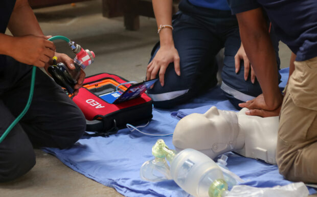 First Aid Blended training